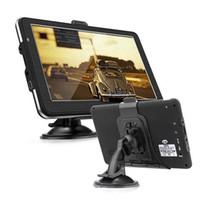 reproductor mp4 de pantalla táctil al por mayor-Coche de 7 pulgadas 4GB pantalla táctil de navegador GPS Multimedia 800 x 480 MP3 / MP4 portátil de pantalla táctil reproductor de 800x480.