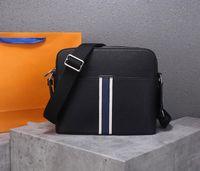 Wholesale briefcase cross body resale online - designer bags man signle shoulder bags genuine leather briefcase cross body real leather Luis Vit purse bag
