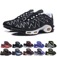 basketbol mujer toptan satış-Orijinal Tn Mercurial Tasarımcı Sneakers Chaussures Homme TN Basketbol Ayakkabı Erkekler Womens Zapatillas Mujer Mercurial TN Koşu Ayakkabıları Eur40-47