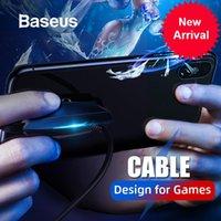 ingrosso interfaccia del gioco usb-Design per giochi Cavo per Iphone Cavo di ricarica con luci colorate Cavo USB tipo C per interfaccia Samsung Xiaomi Usb C.