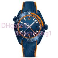 relógios de luxo super venda por atacado-Homens de luxo assistir relógio automático Super luminosa de aço inoxidável relógio de pulso pulseira de borracha anel de cerâmica mens de luxo relógios orologio di lusso