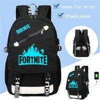 b0b3352a1299 Bts Fortnite Luminous Game Backpack Unisex Student School Book Bag Shoulder  Bag Fortnite Travel Bags Backpacks 0f81