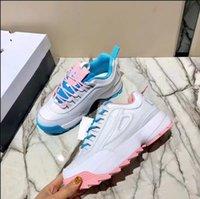 corrida coreana venda por atacado-2019 Sul coreano designer de cores misturadas sapato branco sapatos de grife aumentou anti-derrapante respirável sapatos de corrida sapatos femininos da moda
