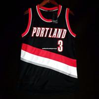 Wholesale cj jersey for sale - Group buy 100 Stitched CJ McCollum vest Jersey Black Mens Vest Size XS XL Stitched basketball Jerseys Ncaa