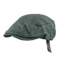 ingrosso berretti-Inghilterra Tweed Gatsby Berretto da strillone da uomo Berretto da cappello Cappello da visiera con visiera Cappello Cap