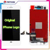 5s de pantalla original al por mayor-Pantalla LCD OEM para el iPhone 5s 6s 7G 7P 8P 8G Screen Display digitalizador Asamblea con el logotipo original de iPhone en Flex