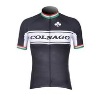 venta ropa directa al por mayor-Venta directa de fábrica COLNAGO verano ciclismo Jersey hombres ropa de bicicleta transpirable de secado rápido al aire libre camisa de la bici de carreras 60502