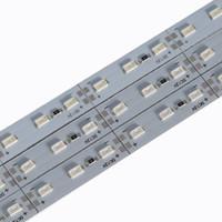 led smd flash al por mayor-Barra LED luces de tira DC12V 994 * 12MM 14W SMD5730 Medidor de Gaza / LED 72LED por el metro blanca fría DC12V 7000-9000K LED tira rígida