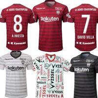 camisas de japão venda por atacado-2019 Japão J.League Vissel Kobe A.INIESTA DAVID VILLA longe de casa terceira camisa de futebol 19 20 PODOLSKI camisas de futebol camisa de futebol 2020