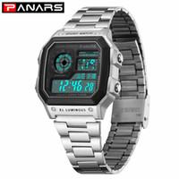 Wholesale wrist watch timer for sale - Group buy PANARS Business Casual Men Watch Luminous Multi function Men s Waterproof Wrist Watch Fitness Digital Watch Alarm Timer Clock