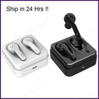 auriculares manos libres al por mayor-10x Sport True Stereo Bluetooth 5.0 Auriculares Auriculares Auriculares TWS Dual Stereo Auriculares Bluetooth inalámbricos Manos libres con caja de carga