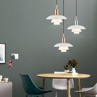 Wholesale designer for home decor resale online - Nordic Designer Pendant Lights H3 Aluminum Loft Hanging Lamp for Living Room Bedroom Kitchen Home Decor Suspension Luminaire