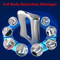 Hyperblade NMES Micro Current Full Body Relax Muscle Therapy Massager Deep Tissue Massager Device DHL free shipping