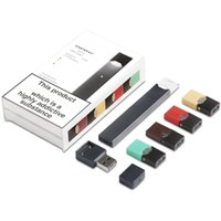 contenedores de vape al por mayor-El más nuevo V3 Starter Kit Cartucho de vapor Portátil Vape Pen 220mAh Batería con logotipo normal  4 Pods Cargador USB Portátil Vape Pen Device Kit