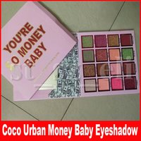 Wholesale 16 eyeshadow for sale - Group buy Coco Urban Eye Makeup Matte Shimmer Eyeshadow Palette Make Up Colors Money Baby Pigment Eye Shadow Pressed Palette
