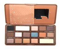 Wholesale chocolate bar eyeshadow makeup palette for sale - Group buy Brand New Eyeshadow Palette Colors Semi Sweet Chocolate Bar Makeup Cosmetic Eye Shadow Pallete DHL Free