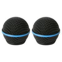ingrosso microfoni a testa-Borsa per griglia per microfono Bolymic RK265G con griglia in metallo per sistema microfonico Mikrofon per karaoke professionale