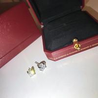koreanische glänzende ohrringe großhandel-Luxus Designer Schmuck Frauen koreanische Göttin Fan Temperament lange Quaste Tremella Nagel Ohr Kette glänzend blendend heißen weiblichen Ohrringe