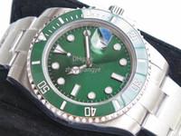 v8 negro al por mayor-12Mens Watches Reloj de lujo V8 904L 116610LN ETA 2836 Reloj mecánico automático Marco de cerámica negro Reloj de buceo luminoso Envío gratis de DHL