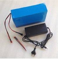 аккумулятор большой мощности оптовых-36V 20AH 1000W мощность литиевая батарея 36V 20AH литий-ионный аккумулятор высокое качество 18650 мощность аккумуляторная BMS с зарядным устройством 2A