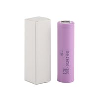 Wholesale lithium battery stocks resale online - 100 High Quality Q mAh INR18650 Battery E Cig Mod Rechargeable Hot In Stock
