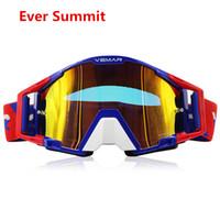 vélos de voitures électriques achat en gros de-2019 sports lunettes de casque d'équitation lunettes de moto hors route anti-sable ski électrique moteur voiture extérieure casque de vélo de saleté visières lunettes