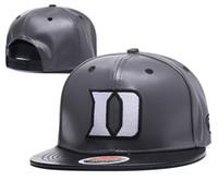 gençlik şapkaları başlıkları toptan satış-Toptan kolej basketbol şapkaları Duke Blue Devils caps mavi gri snapbacks şapka yetişkin ve gençlik kap mix sipariş ücretsiz kargo