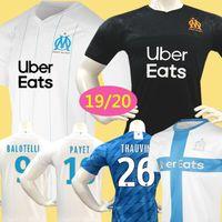 Wholesale soccer jerseys marseille for sale - Group buy Men Kids Soccer Jersey Marseille Maillot de Foot Olympique De Marseille PAYET BALOTELLI THAUVIN GUSTAVO OM Football Shirt