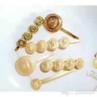 старинные шпильки оптовых-Винтаж золотая медуза скидка заколка для волос bb шпилька головной убор девушка прическа женщины мода ювелирные изделия