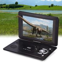 ingrosso mini lettore dvd per auto-13,9 pollici Lettore DVD Batteria ricaricabile per auto Mini schermo girevole LCD TV Gioco HD Home USB Portatile all'aperto