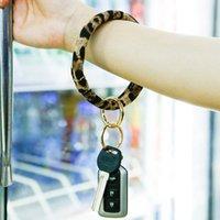 ingrosso vendita borse carino-Vendita calda Bracciale portachiavi braccialetto portachiavi leopardo animale portachiavi Per Donne sveglie borsa del cinturino dell'orologio di portachiavi Regali di design per le donne M171Y