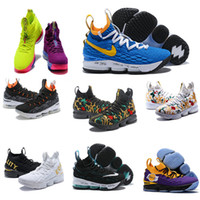 695c847dae05 2019 cheap Ashes Ghost Florale quality Lebrons 15 Basketball Shoes men  Lebron shoes Sneaker 15s Mens sports Shoes James 15 us 7-12