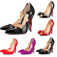 Wholesale new style pumps resale online - New Designer Shoes sneaker So Kate Styles High Heels Shoes Red Bottoms Luxury CM Genuine Leather Point Toe Pumps size with box