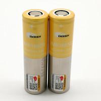 batería pkcell al por mayor-100% más alta calidad IMR 18650 35000mAh 3.7V 30A 18650 baterías recargables de litio Fedex envío