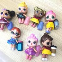 ingrosso modelli vestiti per bambini-Bambole LOL Giocattoli fai-da-te Sorpresa Ragazze Modelli Romdan bambola Contiene Bottiglia di bambola Vestiti Scarpe Occhiali o copricapo Giocattoli per bambini LOL completi
