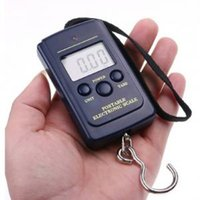 Wholesale digital electronics online - Electronic digital scale kg kg Hanging Luggage Weight Balance LCD Mini Portable scale home tools FFA1614