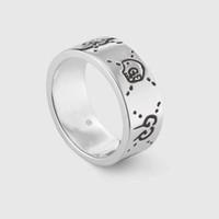 bayanlar 925 ayar gümüş yüzük toptan satış-Popüler moda marka 925 ayar gümüş G Tasarımcı yüzükler için lady Tasarım Kadınlar Partisi Düğün için Lüks Takı Ile gelin kutusu ile