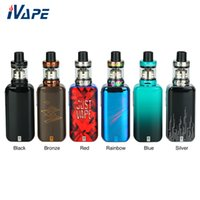 Wholesale silicon screen for sale - Group buy 100 Original Vaporesso Luxe Nano Kit W inch Colorful Touch Screen TC Kit mAh With SKRR S Mini Tank ml