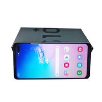 tarjetas de radio sim al por mayor-Nuevo teléfono móvil S10 Plus con Android de 6,5 pulgadas Goophone S10 + 1GB RAM 16GB ROM Tarjeta dual
