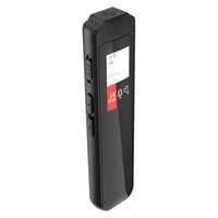 mp3 player tela grande venda por atacado-Mini Digital Voice Recorder Mp3 cores Aparelho de tela USB 2.0 Big Noise Memória Redução gravador de áudio com Long Standby