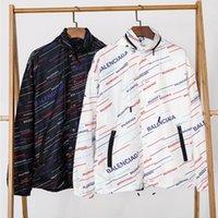 ingrosso corpo del logo-2019 Nuove giacche da uomo firmate giacca a vento con cappuccio sottile giacca con cappuccio Giacca classica con logo di protezione solare per la scatola di protezione solare