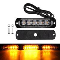 Wholesale marker turn signal light for sale - Group buy 2X V LED Car Truck Emergency Warning LED Strobe Side Marker light for Auto Truck Trailer Led Signal Tail Light
