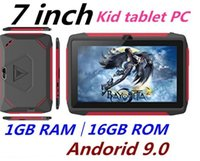 Wholesale kids tablet resale online - factory price kid Tablet PC Q98 Quad Core Inch HD screen Android AllWinner A50 real GB RAM GB Q8 with Bluetooth wifi