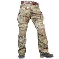 ingrosso cerniera multicam-Pantaloni da caccia EMERSONGEAR G3 Pantaloni da caccia Pantaloni tattici Airsoft Emerson Multicam con ginocchiere