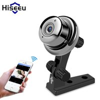 Wholesale mini wi fi network cameras for sale - Group buy Hiseeu Home mini Camera IP P Night Vision Video Monitor IP Wireless Network Surveillance Home Security wi fi baby monitor