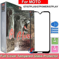 Wholesale screen covers free for phone online – custom Full Cover Tempered Glass Phone Screen Protector For Motorola MOTO G7 Plus Power Play G7PLUS G7POWER G7PLAY in Retail Package dhl free ship