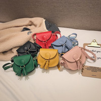 ingrosso borse per bambini-Borsetta per nappe bambina Borselli per borsetta per bambini Borsetta tracolla per bambini in pelle Pu Mini borsa a tracolla 6 colori GGA2203