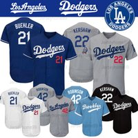 e39a598e5 2019 Men's Los Angeles 22 Dodgers Clayton Kershaw Jersey 35 Cody Bellinger  10 Justin Turner 5 Corey Seager 21 Yu Darvish Baseball Jerseys