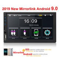 android pour voiture d'écran achat en gros de-2 radio de voiture din 7
