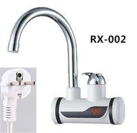 elektrischer heißwasserhahn groihandel-RX-002L, Digitalanzeige Sofortiger Warmwasserhahn, Schneller elektrischer Wasserhahn für Heizung, Inetant Elektrische Heizung Wasserhahn